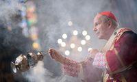 Kardinal Christoph Schönborn beim Pfingsthochamt am 9. Juni.
