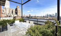 Ausblick auf die Skyline von New York