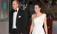 Prince William Duke of Cambridge and Catherine Duchess of Cambridge attend the EE British Academy