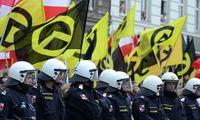 Demonstration der Identit�ren in Wien PUBLICATIONxINxGERxSUIxAUTxHUNxONLY 1057304665