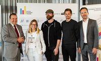 Im Bild v.l.n.r.: Thomas Stern (Braintrust), Martina Marx (Futter/Kleine Zeitung), Matthias Rohrer (Institut für Jugendkulturforschung), Niklas Wiesauer (Mindshare) und Timo Zöller (A1 Telekom Austria AG)