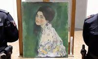 Das Klimt-Gemälde war 1997 gestohlen worden. Im Dezember war es in einer Galerie in Picaenza gefunden worden.