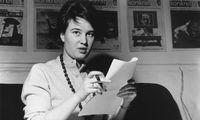 """Vor der Radikalisierung. Ulrike Meinhof als Redakteurin der Zeitschrift """"konkret"""", um 1960."""
