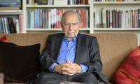 »Mein Leben war nicht nur eine Symphonie«. Paul Lendvai beim Interview in seiner Wohnung in Wien.