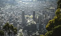 COLOMBIA-WEATHER-FEATURE-CITYSCAPE