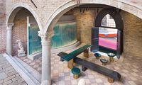 Benvenuti. Das Duo Drage & Aurel gestaltete die Lounge der Nomad-Designmesse.