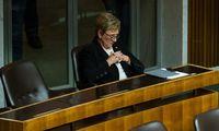 Für wilde Abgeordnete bleibt die letzte Reihe: Monika Lindner verließ 2013 das Parlament auch bald wieder.