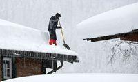 Auch in der Nacht auf Mittwoch schneite es in weiten Teilen Österreichs weiter.