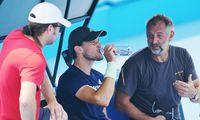 Neues Gespann: Für Nicolás Massú, Dominic Thiem und Thomas Muster sind die Australian Open die erste Feuerprobe.