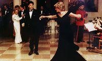 Prinzessin Diana und John Travolta 1985.