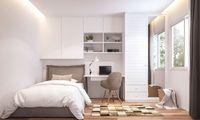 Ausstattung und Kosten liegen zwischen Mietwohnung und Hotelzimmer.
