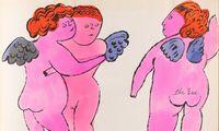 """Aus Andy Warhols Künstlerbuch """"In the Bottom of My Garden"""", ca. 1956, zu sehen heuer im Mumok."""