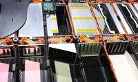 Detailaufnahme einer Lithium-Ionen-Batterie für E-Autos. Vom Geschäft mit diesen Rohstoffen dürfte ein belgischer Konzern besonders profitieren.