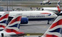 Maschinen der British Airways auf dem Londoner Flughafen Heathrow