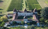 Französisches Schloss im Bordeaux-Gebiet aus dem 17. Jh.