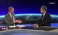 Zwei Männer, denen der Gestus der Überlegenheit nicht fremd ist: Armin Wolf und Wolfgang Peschorn.