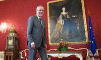 Noch hat Bundepräsident Van der Bellen keine Regierung anzugeloben.