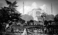 Reflexionen der Hagia Sophia