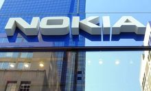 FILE - In this Sept. 18, 2008 file photo the flagship store of Finnish mobile phone Giant Nokia is se