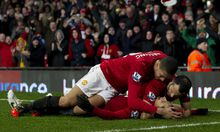 England Manchester United baut