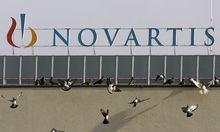 Archivbild: Novartis-Zentrale in Bern in der Schweiz.