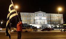 Athen setzt Sparbeschluesse