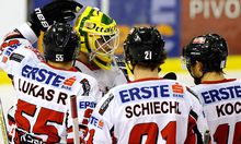 EISHOCKEY - Euro Ice Hockey Challenge, ITA vs AUT