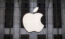 File photo of an Apple logo