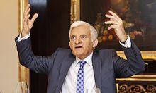 Der Präsident des europäischen Parlaments, Jerzy Buzek