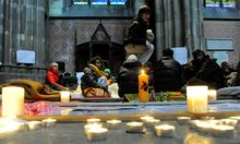 VotivkircheBesetzung Caritas sieht Politik
