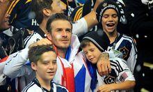 Fussball Beckham verlaesst Amerika