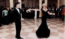 Prinzessin Diana tanzt mit Schauspieler John Travolta bei einer Party im Weißen Haus anno 1985. Gastgeber war US-Präsident Ronald Reagan.