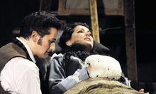 Wer in Davos im Luxus kurte, hatte wohl in Opernhäusern laut über Mimi geschluchzt – hier: Anna Netrebko – und verdeckt dazu gehüstelt.