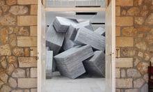 """nbauen gegen Hierarchien: Andreas Angelidakis' variable Installation """"Demos"""" in Athen."""