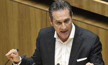 Sondersitzung des Nationalrates zur politischen Korruption in Oesterreich