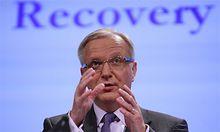 Rehn verlangt weitere Sparbeschluesse