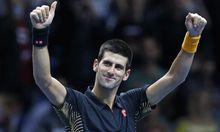 Tennis Djokovic ATPTourFinale Endspiel