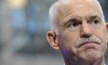 brandgefaehrliche Pokerspiel Georgios Papandreou