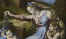 Raffael, Madonna mit dem blauen Diadem / Bild: (c) © 2011 Musée du Louvre / Martine Beck-Coppola