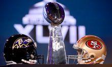 Super Bowl Groesste FootballParty