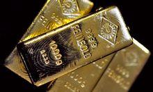 Gold beginnt schwaecheln