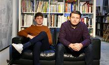 Initiatoren des Forward-Festivals sind Lukas Kauer (links) und Othmar Handl.