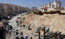 Siedlungsbau riefen Israel Zurueckhaltung