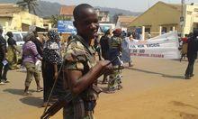 Aufstand Zentralafrikas Praesident bietet
