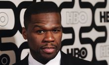 Actor and rapper 50 Cent arrives at the HBO after party after the 70th annual Golden Globe Awards in Beverly Hills