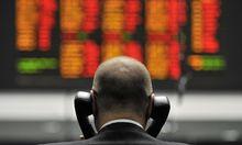 BRITAIN ECONOMY STOCKS FALL