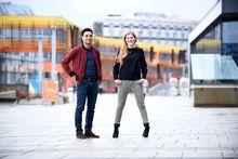 Lucia Grabetz und Yannick Shetty