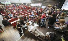 Wien Studenten besetzen Audimax
