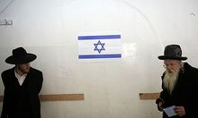 Archivbild: Orthodoxe Juden in Israel