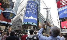 Den Börsenstart von Facebook hatte Unternehmenschef Zuckerberg persönlich eingeläutet